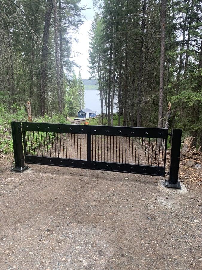 Metal Road Swing Gate